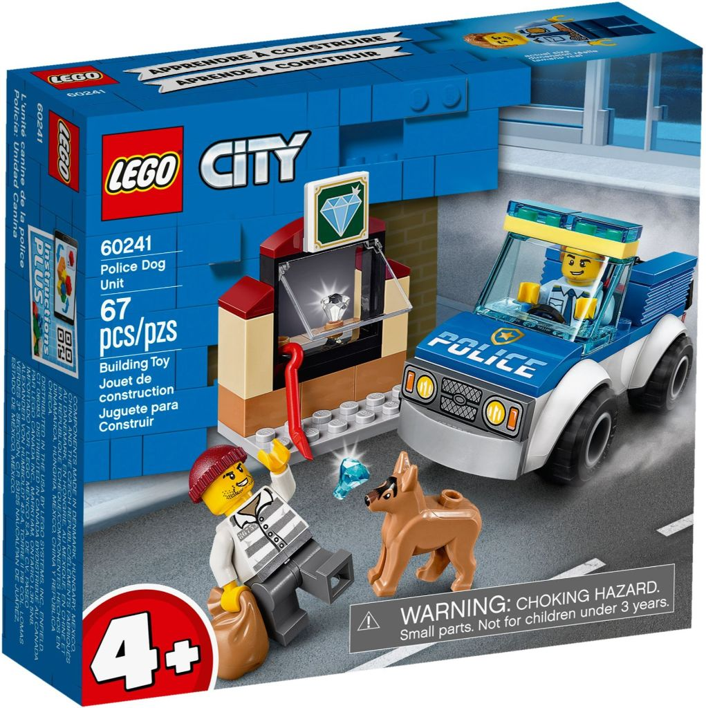 LEGO City 60241 Police Dog Unit 1