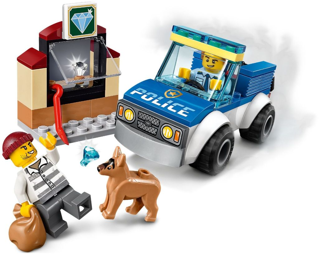 LEGO City 60241 Police Dog Unit 2