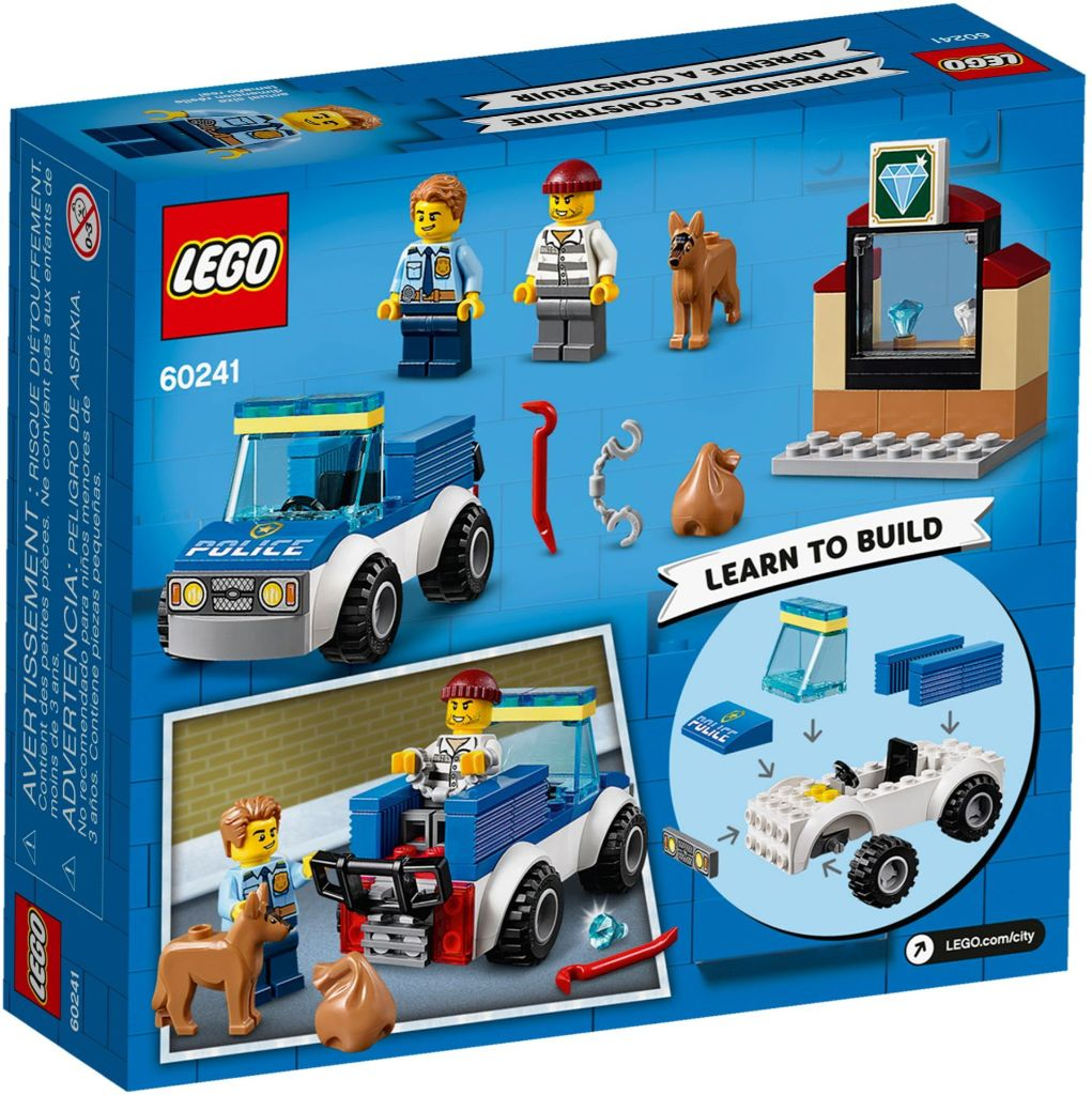 LEGO City 60241 Police Dog Unit 4