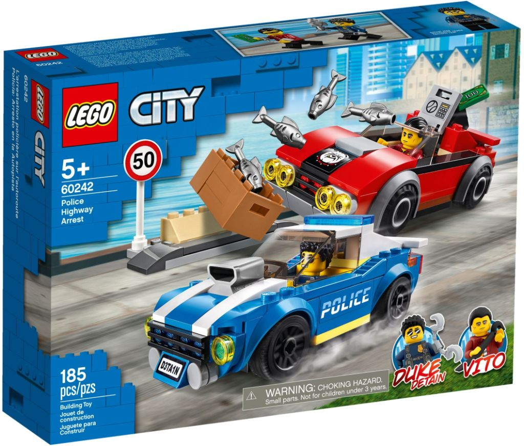 LEGO City 60242 Police Highway Arrest 1