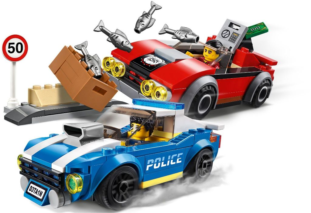 LEGO City 60242 Police Highway Arrest 2