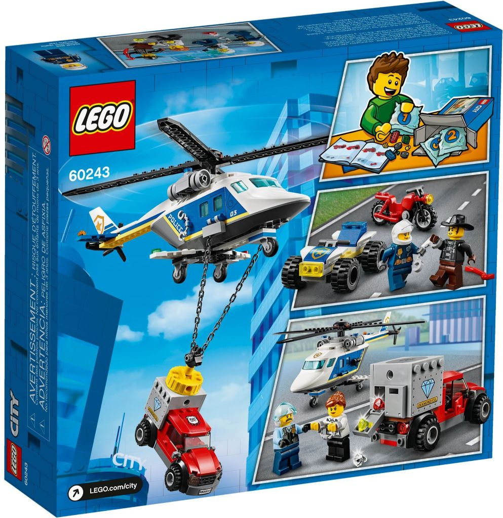 LEGO City 60243 Police Helicopter Chase 4