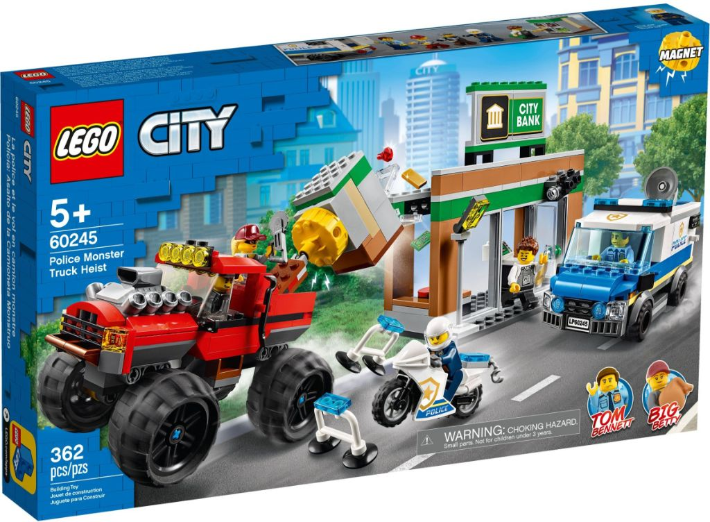 LEGO City 60245 Police Monster Truck Heist 1
