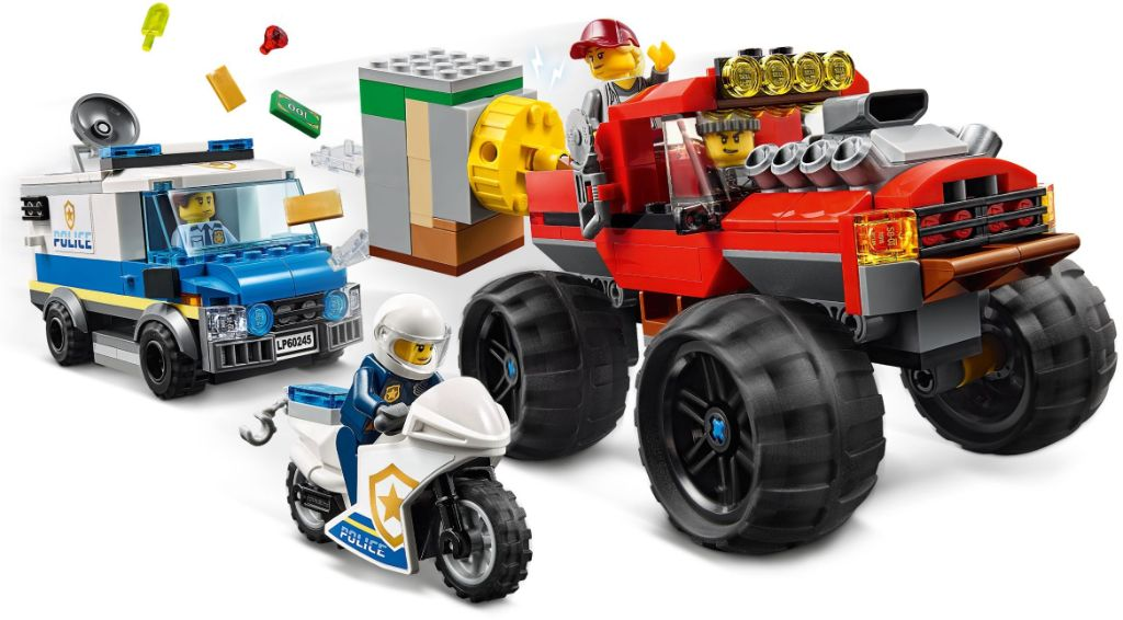 LEGO City 60245 Police Monster Truck Heist 3