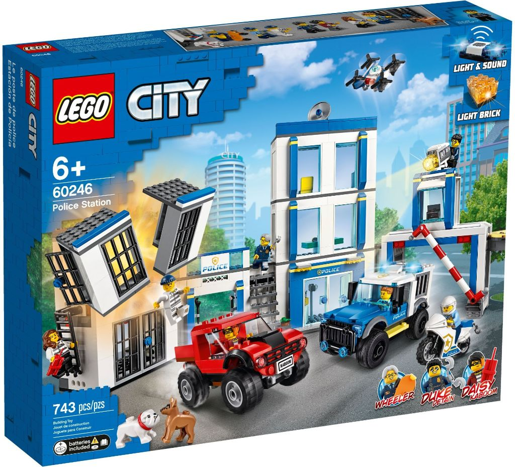 LEGO City 60246 Police Station 1