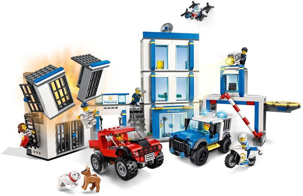 LEGO City 60246 Police Station 2
