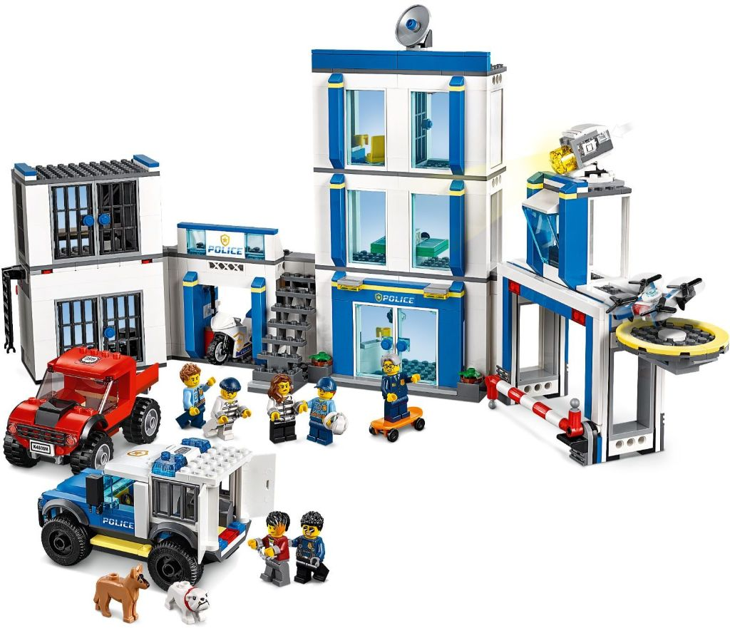 LEGO City 60246 Police Station 3