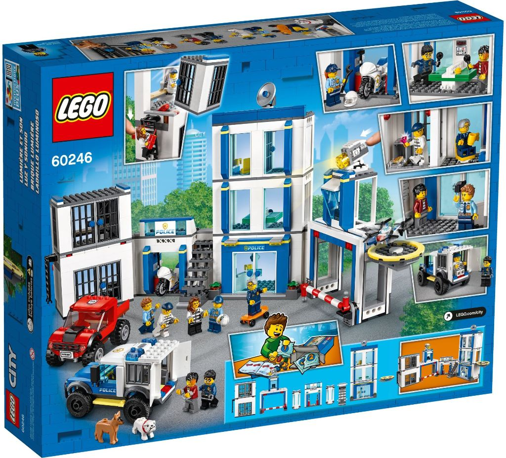 LEGO City 60246 Police Station 4