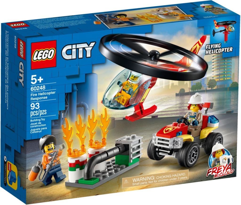 LEGO City 60248 Fire Helicopter Response 1