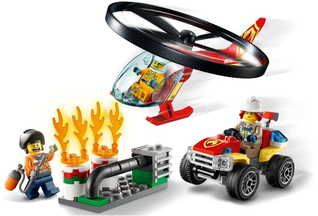 LEGO City 60248 Fire Helicopter Response 2