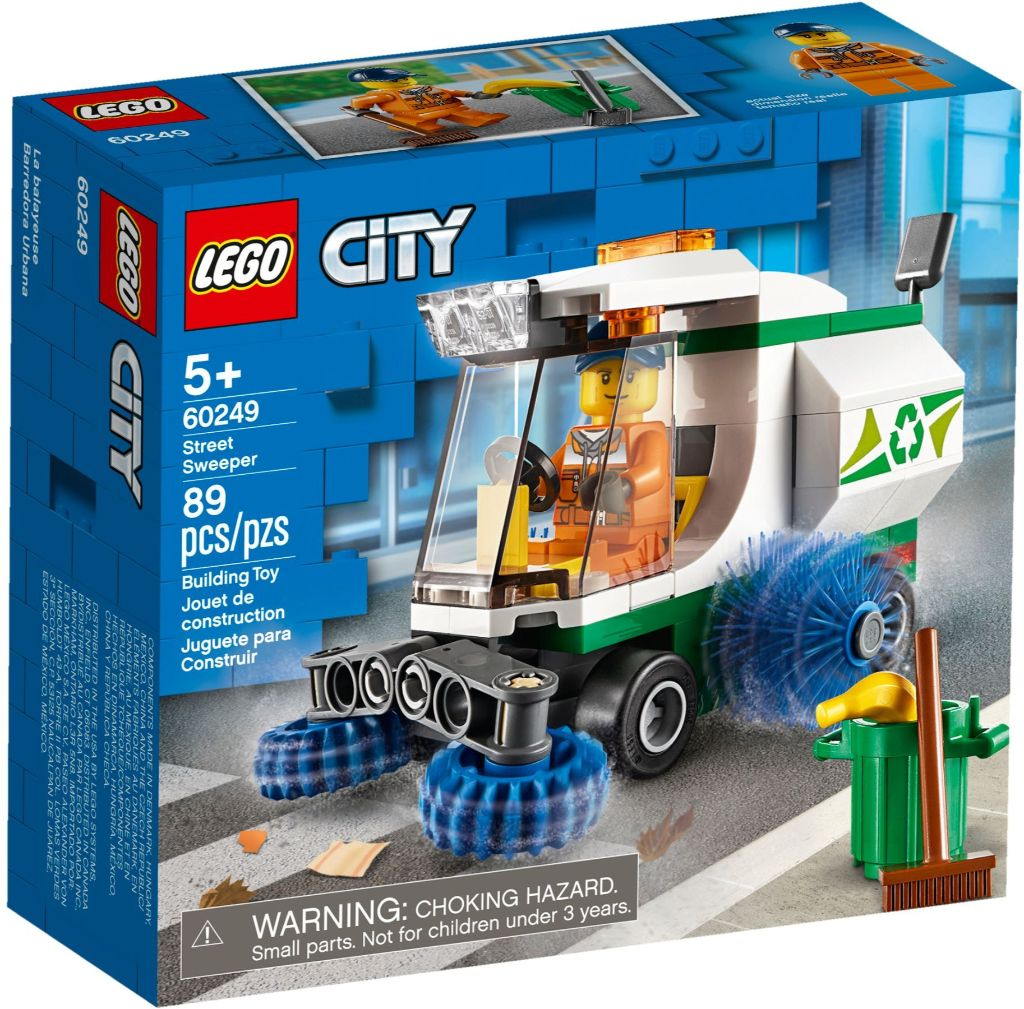 LEGO City 60249 Street Sweeper 1