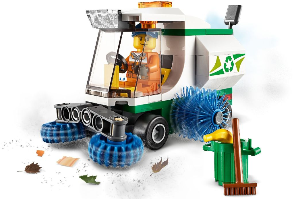 LEGO City 60249 Street Sweeper 2