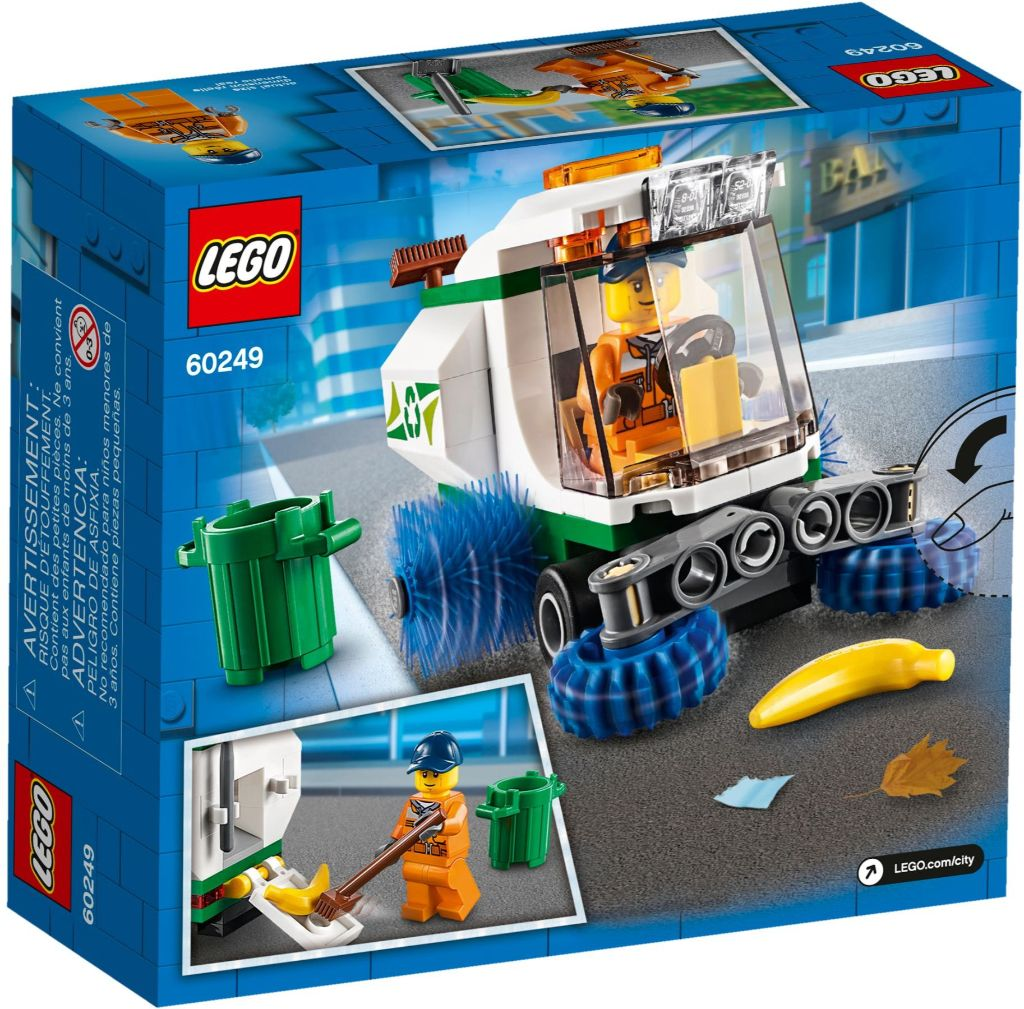 LEGO City 60249 Street Sweeper 3