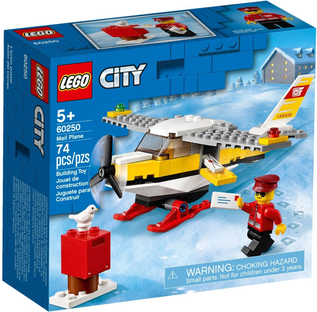 LEGO City 60250 Mail Plane 1