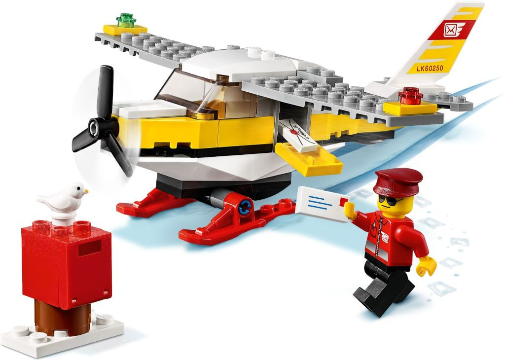 LEGO City 60250 Mail Plane 2