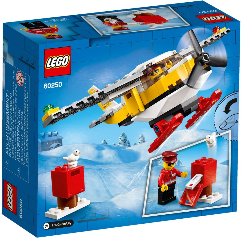 LEGO City 60250 Mail Plane 4