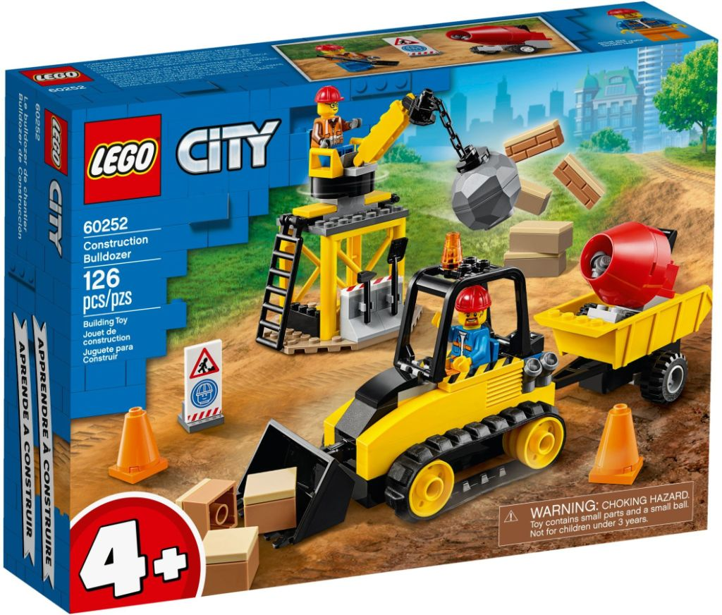 LEGO City 60252 Construction Bulldozer 1
