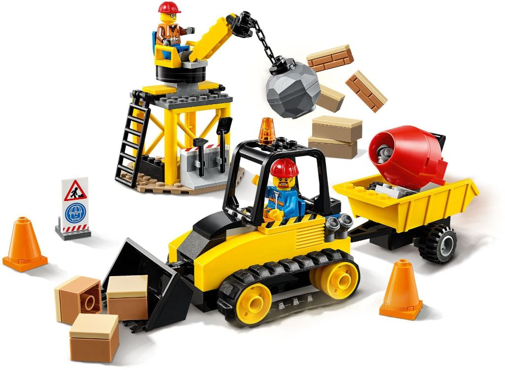 LEGO City 60252 Construction Bulldozer 2