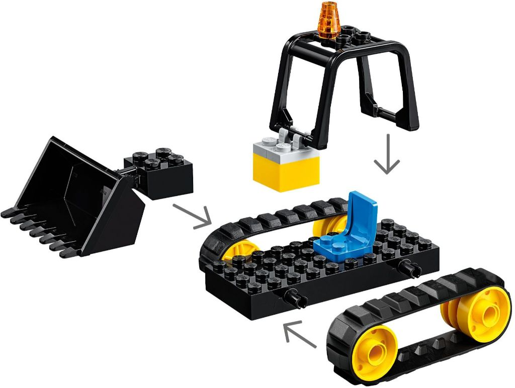 LEGO City 60252 Construction Bulldozer 3