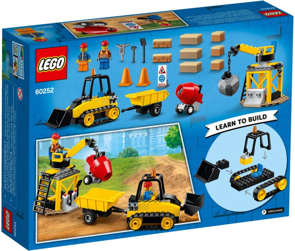 LEGO City 60252 Construction Bulldozer 4