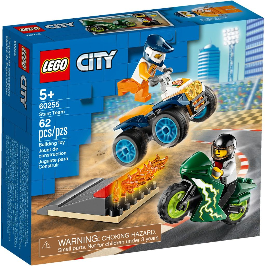 LEGO City 60255 Stunt Team 1