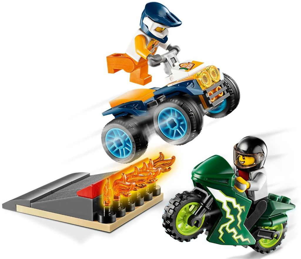 LEGO City 60255 Stunt Team 2