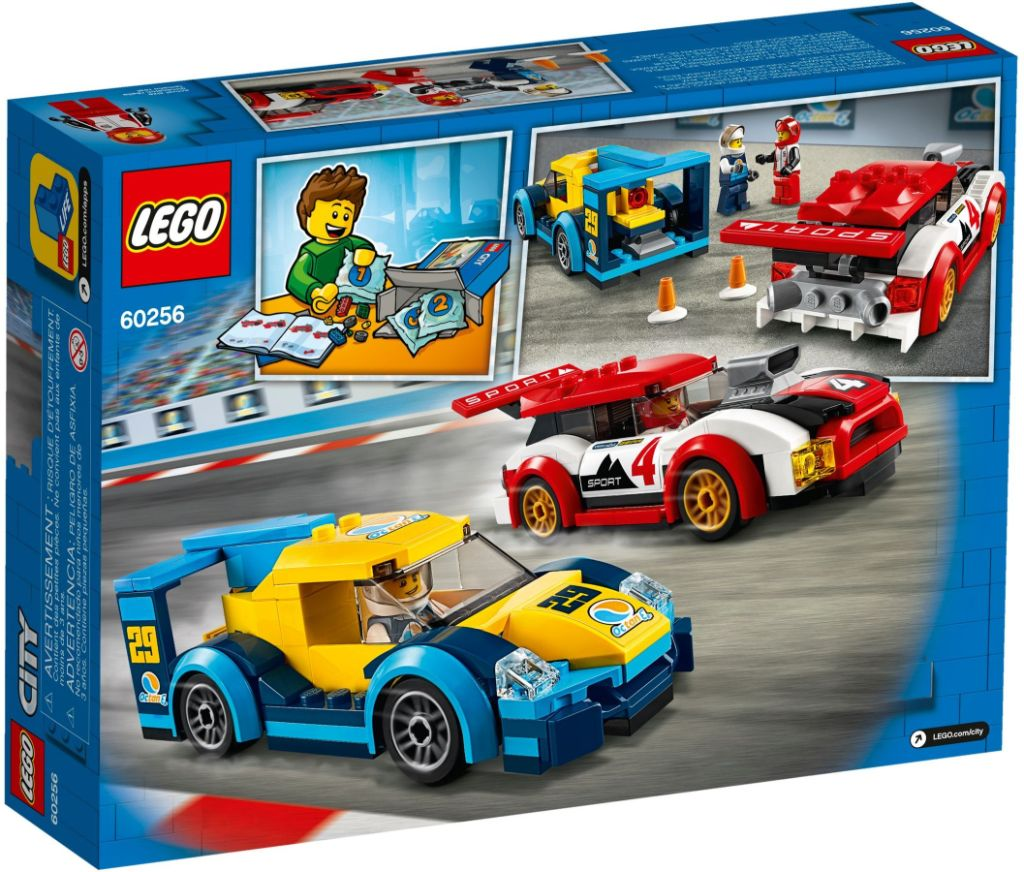 LEGO City 60256 Racing Cars 3