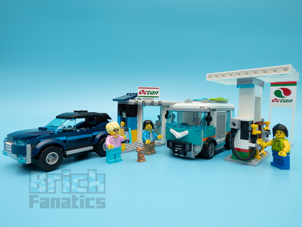 LEGO City 60257 Service Station 45