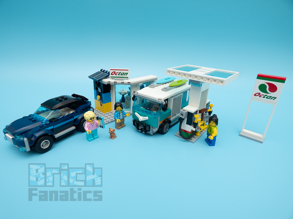 LEGO City 60257 Service Station 46