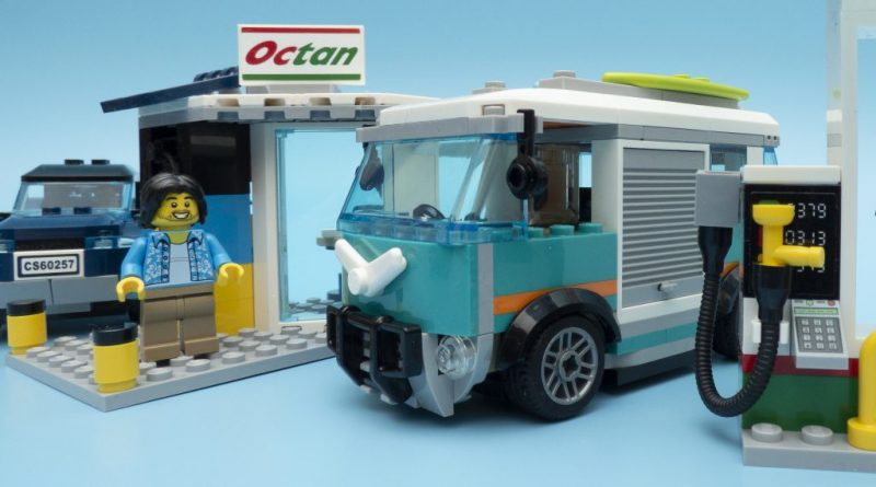 LEGO City 60257 Service Station Featured 800 445 800x445