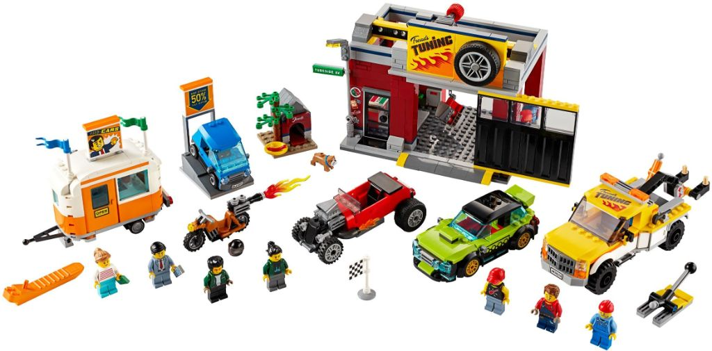 LEGO City 60258 Tuning Workshop 1