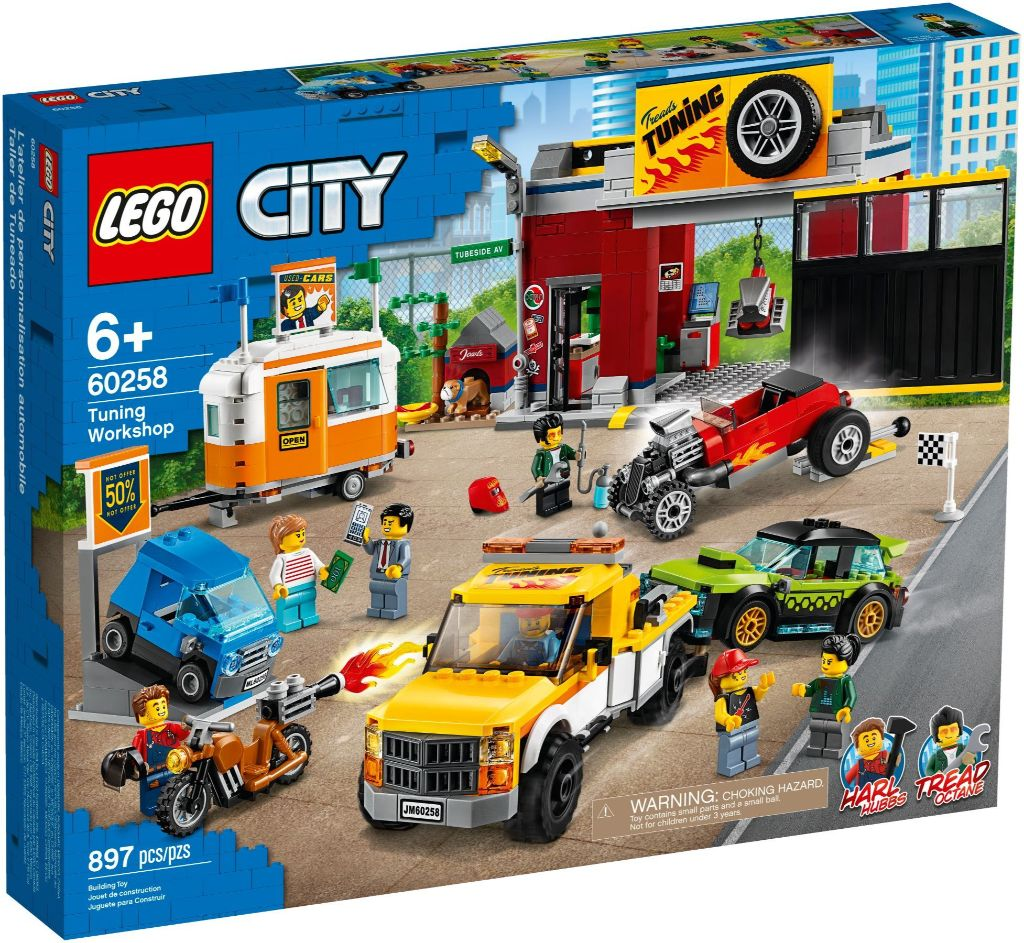 LEGO City 60258 Tuning Workshop 2