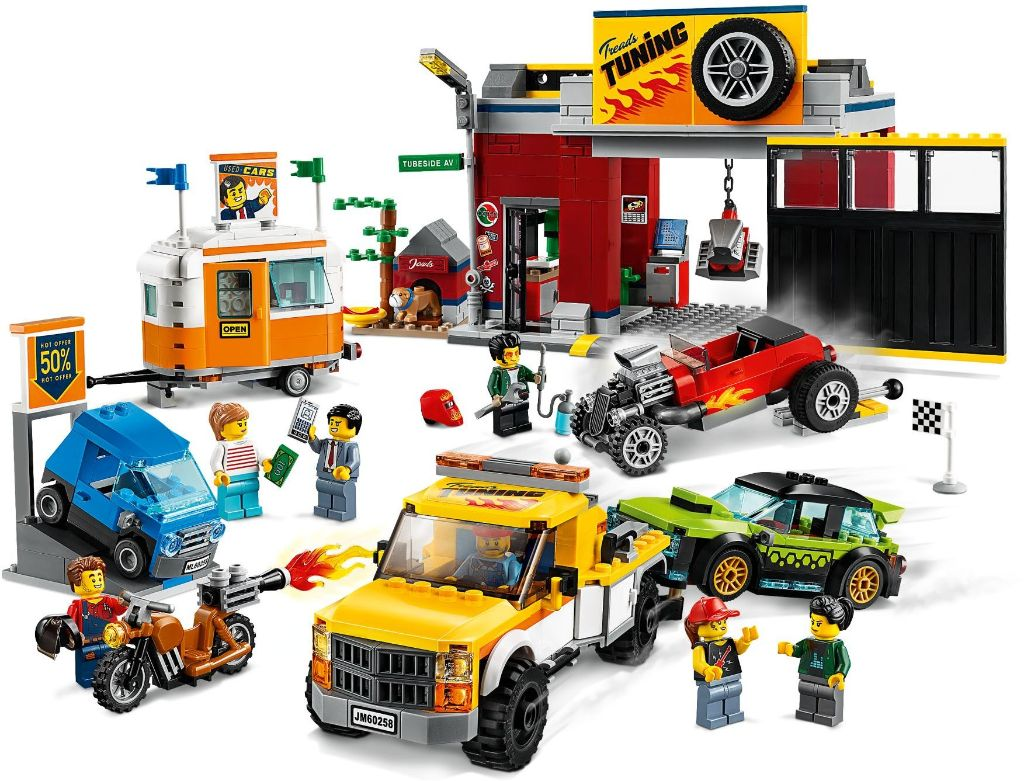 LEGO City 60258 Tuning Workshop 3