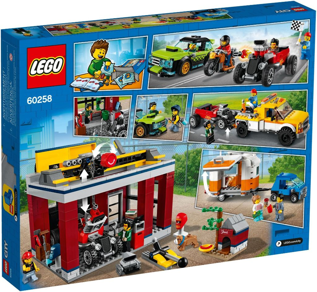 LEGO City 60258 Tuning Workshop 4