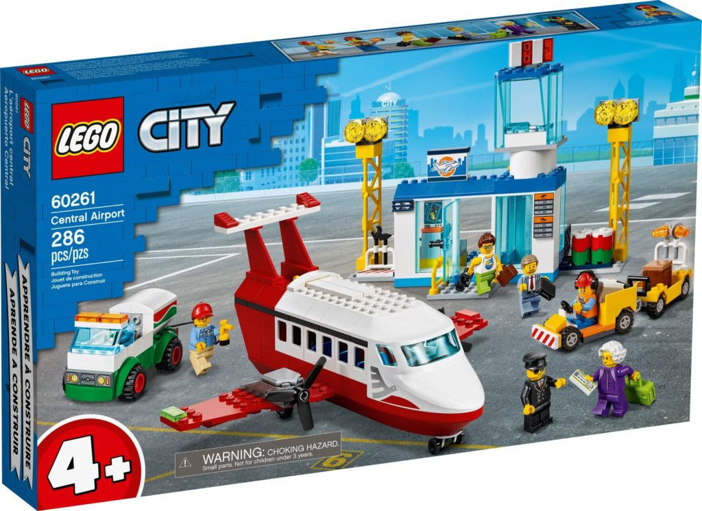 LEGO City 60261 Central Airport Box