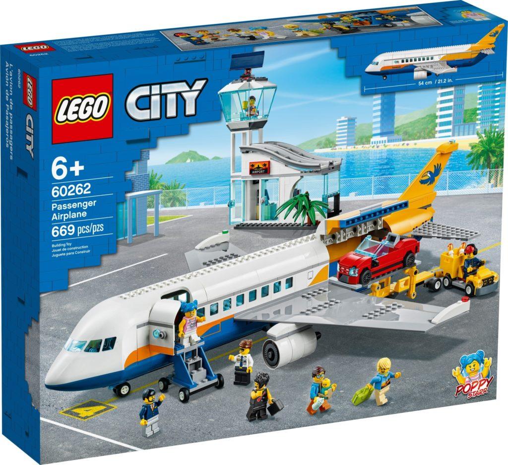 LEGO City 60262 Passenger Airplane Box