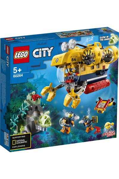 LEGO City 60264 Exploration Submarine 1