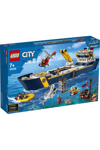 LEGO City 60266 Ocean Exploration Ship 1