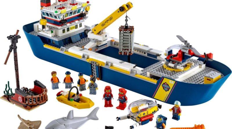 LEGO City 60266 Ocean Exploration Ship 800x445