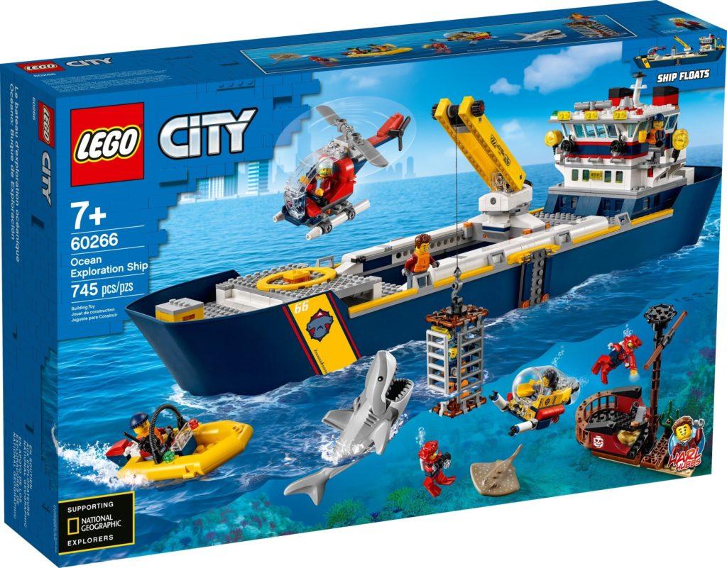 LEGO City 60266 Ocean Exploration Ship Box