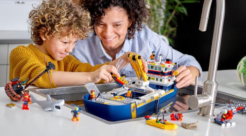LEGO City 60266 Ocean Exploration Ship lifestyle featured