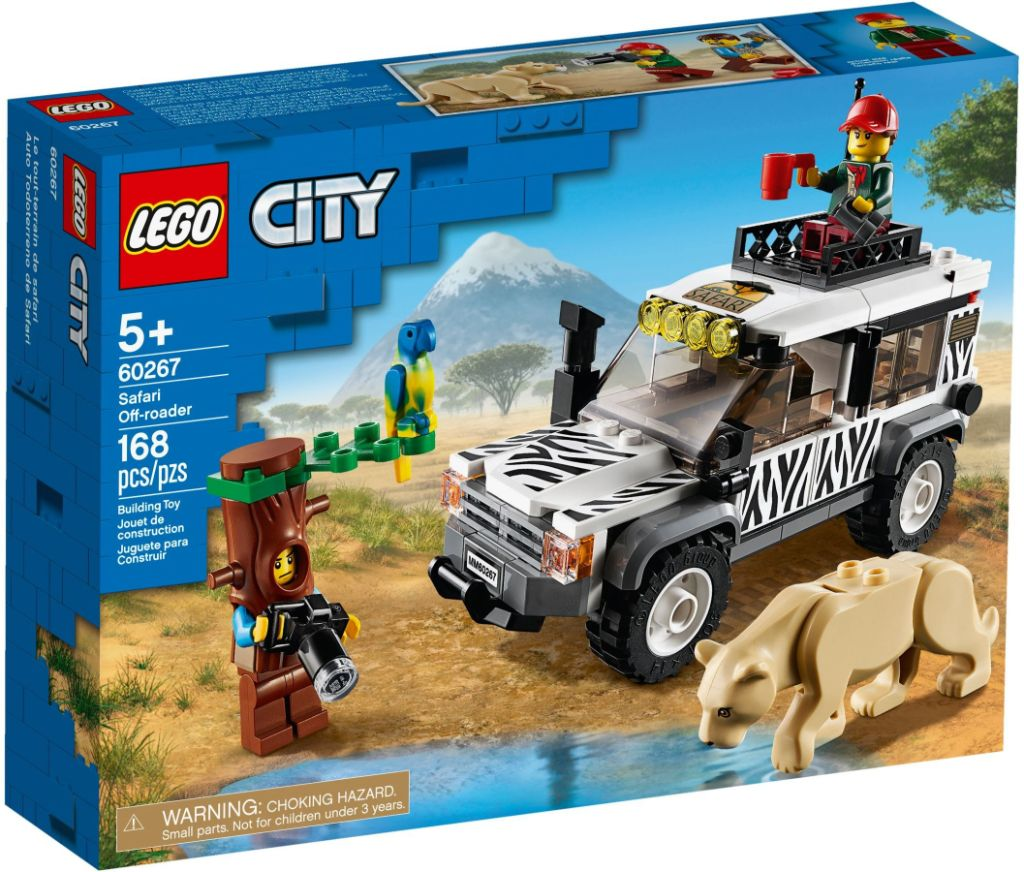 LEGO City 60267 Safari Off Roader 1