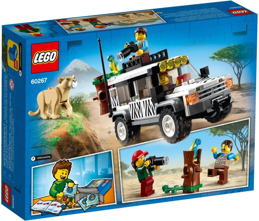 LEGO City 60267 Safari Off Roader 3