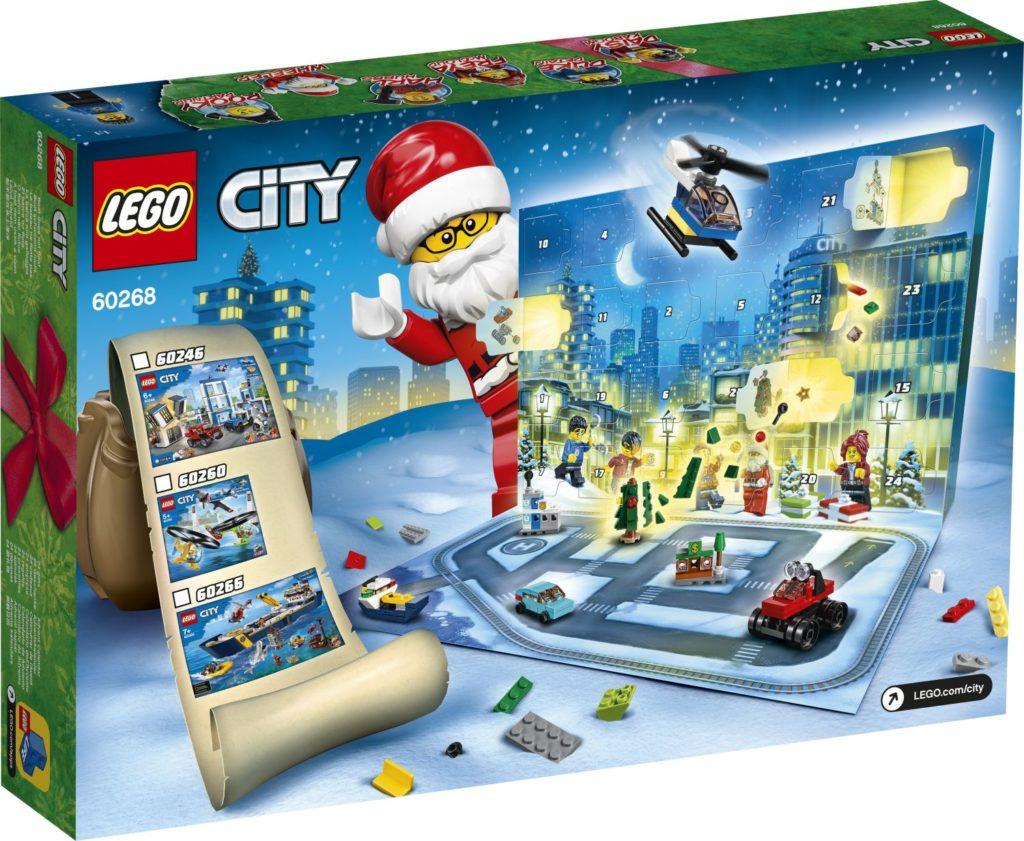 LEGO City 60268 Advent Calendar 2
