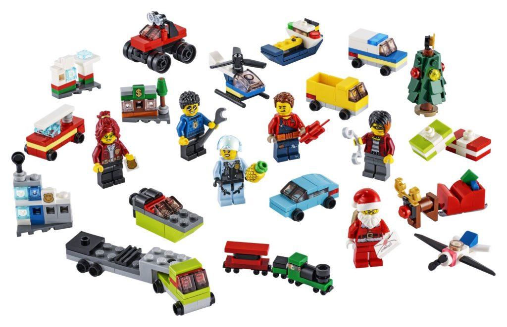 LEGO City 60268 Advent Calendar 3