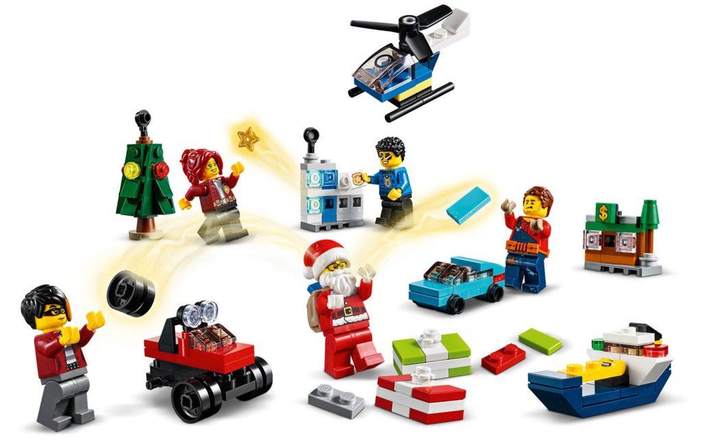 LEGO City 60268 Advent Calendar 4