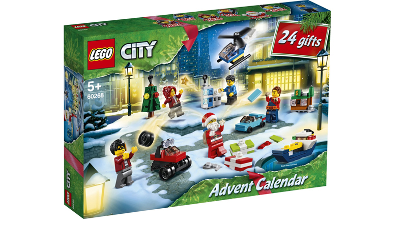 LEGO City 60268 Advent Calendar Featured