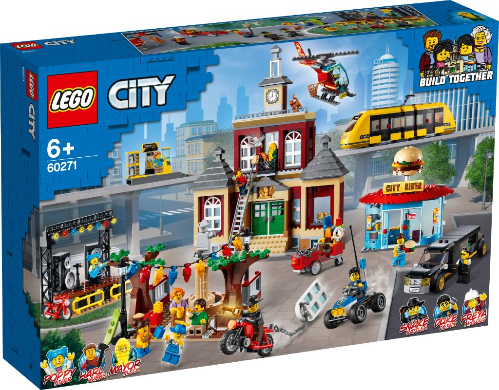 LEGO City 60271 Main Square 1