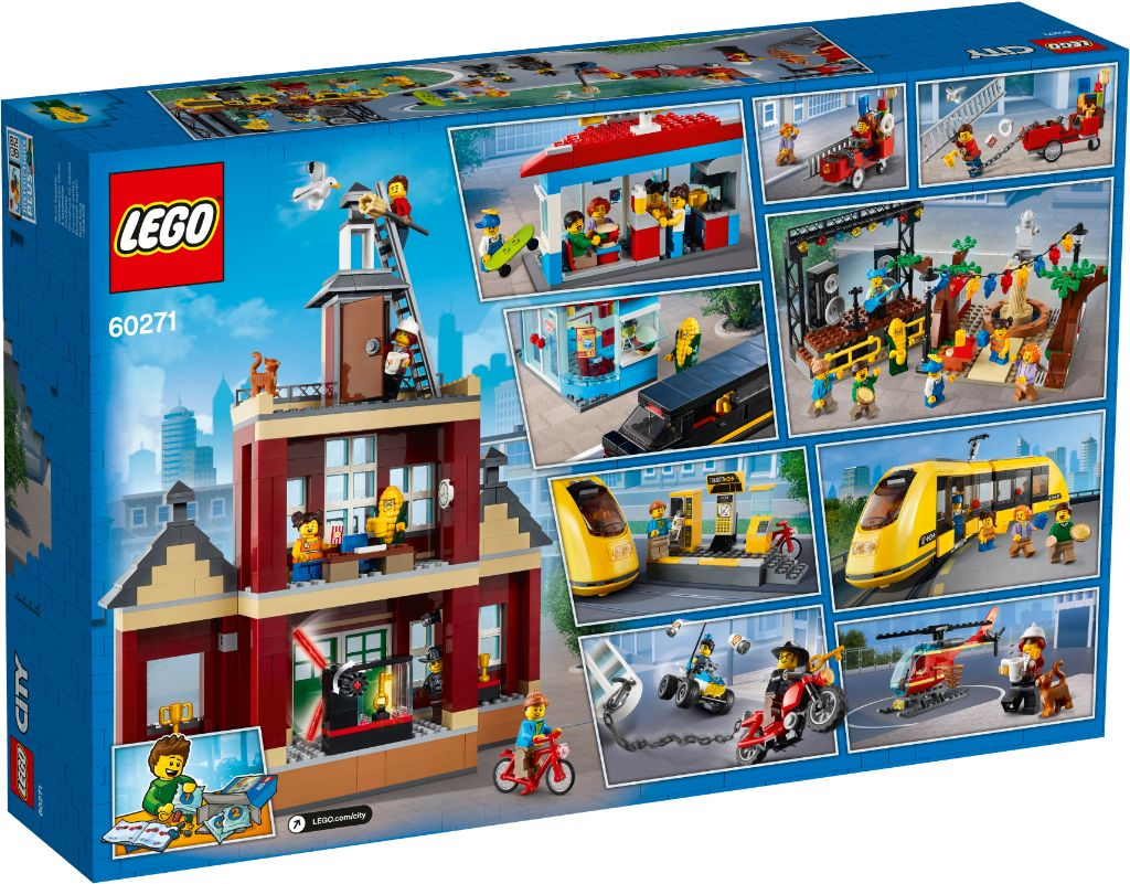 LEGO City 60271 Main Square 2