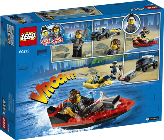 LEGO City 60272 Elite Police Boat Transporter 2
